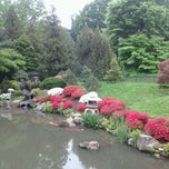 Photo taken at Shofuso Japanese House and Garden by Juan José M. on 5/3/2012