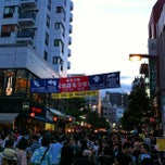 Photo taken at 麻布十番駅 (Azabu-juban Sta.) by Dan C. on 8/25/2012