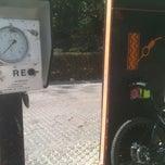Photo taken at Gasolinera Repsol by SevillaEnBici on 3/20/2012