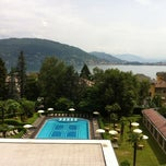 Photo taken at Hotel Simplon - Lago Maggiore, Italy by Danny B. on 6/6/2012