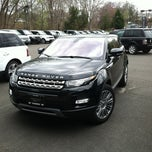 Photo taken at Land Rover Darien by Peter R. on 3/29/2012