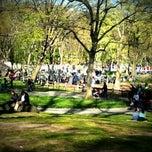 Photo taken at Central Park - Heckscher Playground by Syaheed w. on 4/6/2012