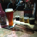 Photo taken at Rogue Ales Public House by Shawn on 9/4/2012