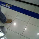 Photo taken at Bank Mandiri Kebayoran lama by Dindriani T. on 5/11/2012