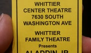 Whittier Center Theatre