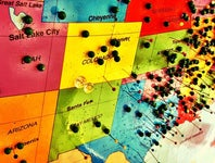 Cover Photo for David Estlack's map collection, Branson, Mo