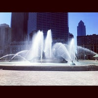 Photo taken at Logan Square by John A. on 4/8/2012