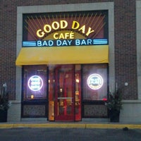 Photo taken at Good Day Café Bad Day Bar by Nathan on 2/8/2012