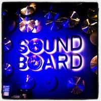 Photo taken at Sound Board by Juli P. on 4/25/2012