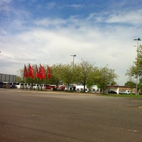 Photo taken at Messe Düsseldorf - Caravan Center by skysea on 5/10/2012