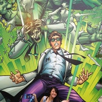 Photo taken at The Incredible Hulk Coaster by Michelle L. on 5/14/2012