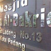 Photo taken at Masjid Asra Albakrie by Filmafara on 8/12/2012