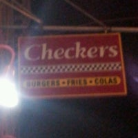 Photo taken at Checkers by Armel M. on 9/1/2012