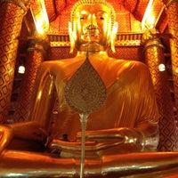 Photo taken at Wat Phananchoeng by LIM C. on 7/12/2012