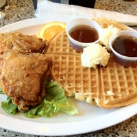 Photo taken at Home Of Chicken and Waffles by Randell A. on 2/19/2012