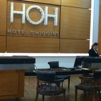 Photo taken at Hotel O'Higgins by v. on 3/3/2012