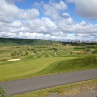 Photo taken at Golfklúbbur Kópavogs og Garðabæjar (GKG) by Jón H. on 6/17/2012