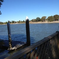 Photo taken at Bridge Seafood by James R. on 9/1/2012