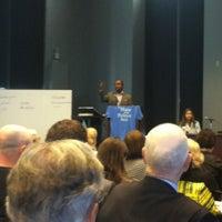 Photo taken at ColumbiaJourn Talks by Arik H. on 4/21/2012