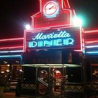 Photo taken at Marietta Diner by Krista K. on 9/6/2012