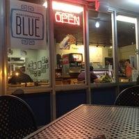Photo taken at Mediterranean Blue by Todd S. on 4/20/2012