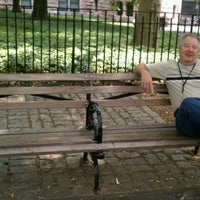 Photo taken at Frank Perdue Bench by Robert C. on 6/11/2012