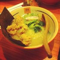 Photo taken at Men-Dokoro Ryo Tei 亮亭 by mo on 8/17/2012
