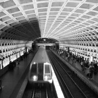 Photo taken at Farragut West Metro Station by Jeff S. on 5/25/2012