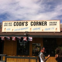 Photo taken at Cook's Corner by Vargas I. on 3/11/2012
