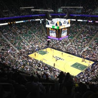 Photo taken at Vivint Smart Home Arena by Ricky C. on 5/8/2012