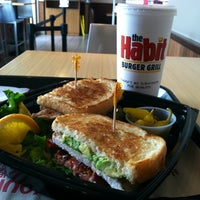 Photo taken at The Habit Burger Grill by Sindy L. on 6/4/2012