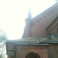 Photo taken at Sofienberg kirke by Edvin Ø. on 3/26/2012