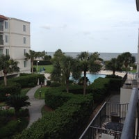 Photo taken at Beach Club Hotel Saint Simons Island by Lisa L. on 5/13/2012