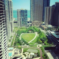 Photo taken at Fairmont Chicago by Lindsay O. on 5/25/2012