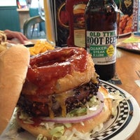 Photo taken at Quaker Steak & Lube® by Eileen S. on 7/17/2012