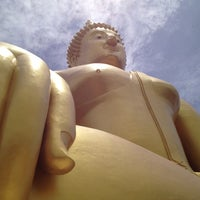 Photo taken at Wat Muang by Ninewza S. on 6/23/2012
