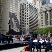 Photo taken at Daley Plaza by MB Noble on 5/26/2012