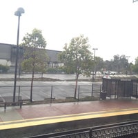 Photo taken at Hayward Park Caltrain Station by Erick W. on 2/13/2012