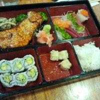 Photo taken at HK Tea & Sushi by Margie C. on 3/14/2012