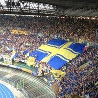 Photo taken at Stadio Marc'Antonio Bentegodi by Valentina R. on 6/2/2012