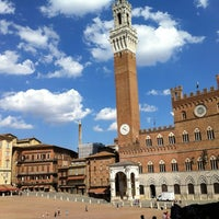 Photo taken at Piazza del Campo by Andrea B. on 7/9/2012