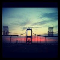 Photo taken at Chesapeake Bay Bridge by Danielle E. on 8/15/2012