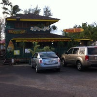 Photo taken at Kalapaki Beach Hut Burgers by Rick W. on 3/19/2012