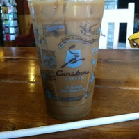 Photo taken at Caribou Coffee by Laura B. on 3/17/2012
