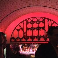 Photo taken at Cellar Bar at Bryant Park Hotel by Yosuke H. on 6/1/2012