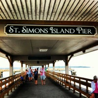 Photo taken at St. Simons Island Pier by Frank G. on 6/24/2012