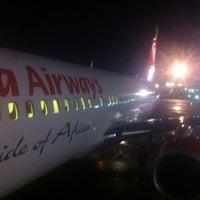 Photo taken at Jomo Kenyatta International Airport (NBO) by Nflippa on 4/28/2012