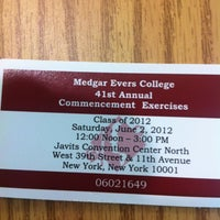 """Photo taken at Medgar Evers College """"S"""" Building by Andre B. on 5/16/2012"""