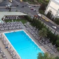 Photo taken at Hilton Athens by Mario M. on 8/29/2012