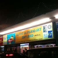 Photo taken at Sunny Supermart Sdn Bhd by Brian S. on 4/12/2011
